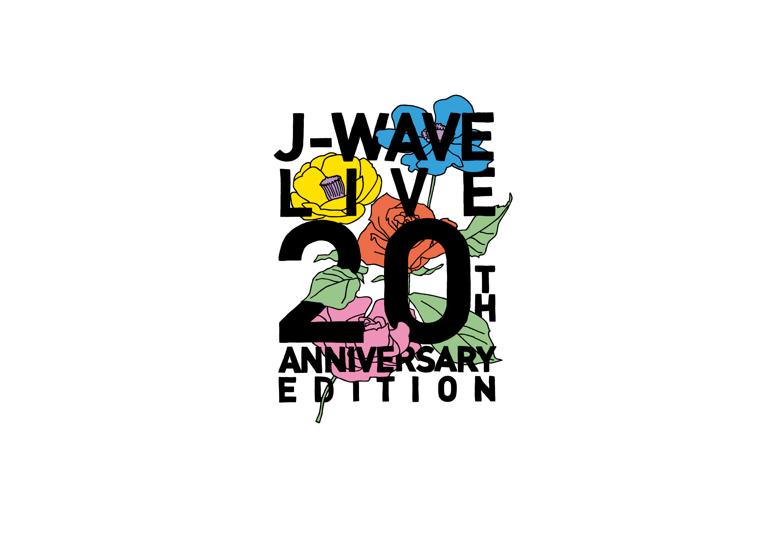 J-WAVE LIVE 20th ANNIVERSARY EDITION オープニングアクトとして出演決定!