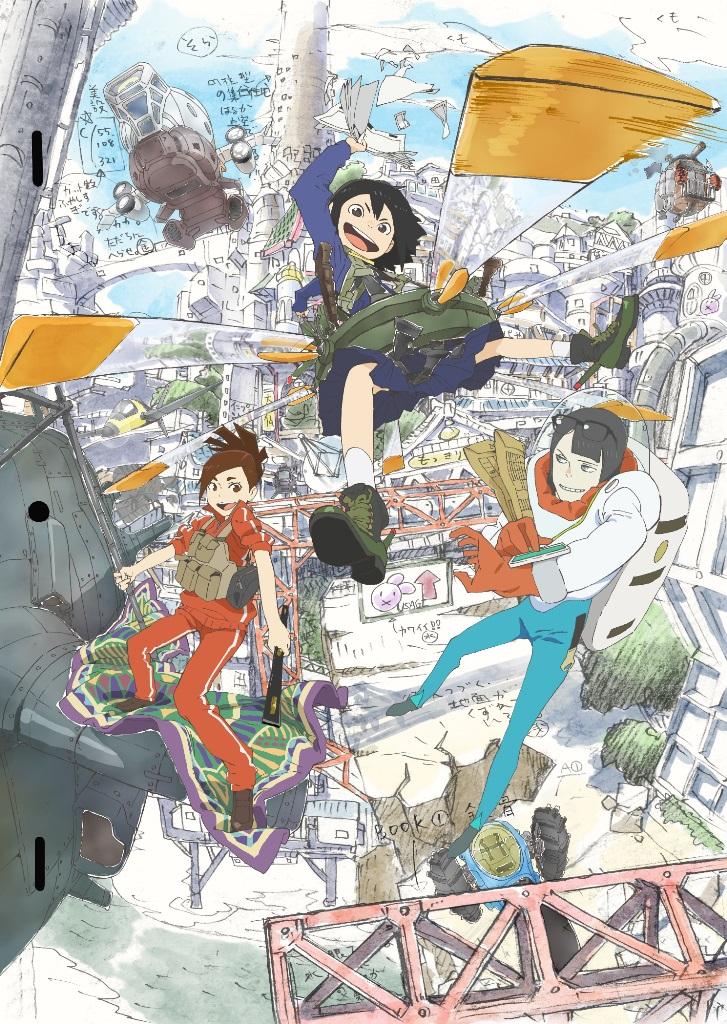 NHK TVアニメ「映像研には手を出すな!」PV公開!OPテーマ「Easy Breezy」1/17配信決定!